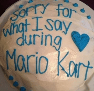 Mario Kart, Mario, and Harsh: during Things can get pretty harsh in Mario Kart