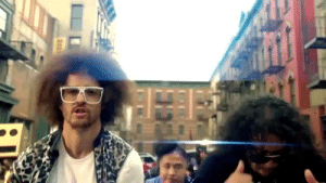 Party, Tumblr, and Twitter: dutchster:  Party Rock Anthem has the same BPM as Uptown Girl (x)