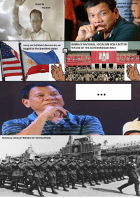 have a low quality mspaint OC meme -Edu Onii-chan: duterte  my son  carry on judaised democracy as  taught by the jewnited states  NATIONAL SOCIALISTREPUBLIC OF THE PHILIPPINES  you are supreme  leader no  you  EMBRACE NATIONAL SOCIALISM FOR A BETTER  FUTURE OF THE AUSTRONESIAN RACE have a low quality mspaint OC meme -Edu Onii-chan