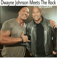 Epic: Dwayne Johnson Meets The Rock  Rock  NSTAGRA  DWAYNE JOHNSON ROVE Epic