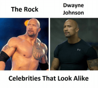 The Rock: Dwayne  The Rock  Johnson  Celebrities That Look Alike