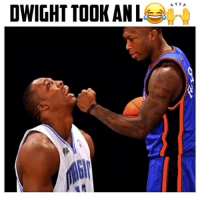 Dunk, Memes, and Lost: DWIGHT TOOK AN Lee: NeverForget When Dwight lost to Nate Robinson 😂🙌 @naterobinson 🔥 Tag someone below that you could beat in a dunk contest! 💀👇🏽 . Follow me @Sportzmixes For More💯