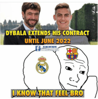 Dybala going to be 💰 Juventus realmadrid barcelona: DYBALA EXTENDS HIS CONTRACT  UNTIL JUNE 2022  R E A L  I KNOW THAT FEEL BRO Dybala going to be 💰 Juventus realmadrid barcelona
