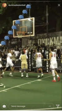 Via, Sheesh, and  Message: dyckmanbasketball  Send message SHEESH, Terry Rozier (via @IamDyckman)