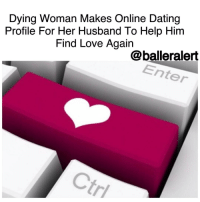 "Memes, Tinder, and Love Again: Dying Woman Makes Online Dating  Profile For Her Husband To Help Him  Find Love Again  balleralert  Enter Dying Woman Makes Online Dating Profile For Her Husband To Help Him Find Love Again -blogged by @BenitaShae ⠀⠀⠀⠀⠀⠀⠀⠀⠀ ⠀⠀⠀⠀⠀⠀⠀⠀⠀ Amy Krouse Rosenthal is fighting ovarian cancer, and doesn't have much time left to be with her loved ones. One of her last duties was to write about her illness and her marriage in a ""Modern Love"" essay published Friday in the New York Times. ⠀⠀⠀⠀⠀⠀⠀⠀⠀ ⠀⠀⠀⠀⠀⠀⠀⠀⠀ Rosenthal starts out describing how she found out she has cancer. ""Want to hear a sick joke? A husband and wife walk into the emergency room in the late evening on Sept. 5, 2015. A few hours and tests later, the doctor clarifies that the unusual pain the wife is feeling on her right side isn't the no-biggie appendicitis they suspected but rather ovarian cancer."" ⠀⠀⠀⠀⠀⠀⠀⠀⠀ ⠀⠀⠀⠀⠀⠀⠀⠀⠀ Despite feeling weak, she said she had to write the essay while she was still able to because she wanted Jason, her husband of 26 years, to fall in love again after she passes away. ⠀⠀⠀⠀⠀⠀⠀⠀⠀ ⠀⠀⠀⠀⠀⠀⠀⠀⠀ ""First, the basics: He is 5-foot-10, 160 pounds, with salt-and-pepper hair and hazel eyes,"" the 51-year-old wrote. ""I have never been on Tinder, Bumble or eHarmony, but I'm going to create a general profile for Jason right here, based on my experience of coexisting in the same house with him for, like, 9,490 days."" ⠀⠀⠀⠀⠀⠀⠀⠀⠀ ⠀⠀⠀⠀⠀⠀⠀⠀⠀ She goes on to say that Jason is a loving and devoted father, an amazing cook and the man she fell in love with in just one day. ⠀⠀⠀⠀⠀⠀⠀⠀⠀ ⠀⠀⠀⠀⠀⠀⠀⠀⠀ ""If he sounds like a prince and our relationship seems like a fairy tale, it's not too far off, except for all of the regular stuff that comes from two and a half decades of playing house together. And the part about me getting cancer. Blech."" ⠀⠀⠀⠀⠀⠀⠀⠀⠀ ⠀⠀⠀⠀⠀⠀⠀⠀⠀ She ties the story together saying, ""I am wrapping this up on Valentine's Day, and the most genuine, non-vase-oriented gift I can hope for is that the right person reads this, finds Jason, and another love story begins."""