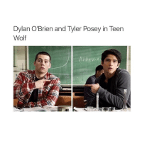 Dylan O'Brien, Memes, and Teen Wolf: Dylan O'Brien and Tyler Posey in Teen  Wolf  At Dr W A I need to finish