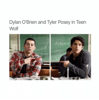 Dylan O'Brien, Teen Wolf, and Tyler Posey: Dylan O'Brien and Tyler Posey in Teen  Wolf i need to finish