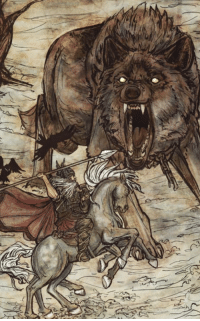 Wolf, Insanity, and Insanity Wolf: e  ジ Fenrir, the original insanity wolf!