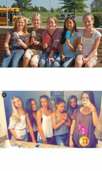 middle school girls when I was in middle school vs middle school girls now: E-   ad 444 middle school girls when I was in middle school vs middle school girls now