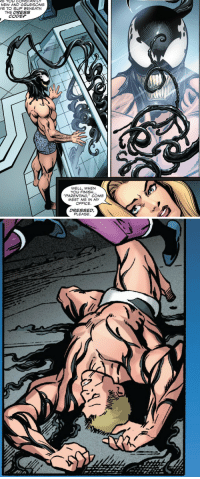 """massivespacewren: Eddie Brock in Venom - First Host issue 01@tonystarksredthong: E  CONSTANTLY  S TO SLIP BENEATH  THE DRESS  CODEP  WELL, WHEN  YO凵FINISH  PARENTING,"""" COME  MEET ME IN MY  OFFICE.  DRESSED,  PLEASE massivespacewren: Eddie Brock in Venom - First Host issue 01@tonystarksredthong"""
