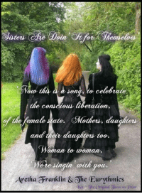Happy Mother's Day!  With massive R E S P E C T from the very talented Annie Lennox & Aretha Franklin <3  We honor and celebrate our personal influences with the feminine spirit.  Grandmothers; Mothers; Sisters; Daughters; Nieces and the matriarchal line that crafted our family!  Show reverence to your ancestors.   <3   Life really is short; things happen in a split second. 'There's something we forgot to say to you... We say, sisters are doin' it for themselves.  Standin' on their own two feet, and ringin' on their own bells.' <3  Hug a Mom, tell her ya luv her!  Tell her she matters and her choices were right for her... No judgements, only luv <3  Pobody's nerfect!! :)  :)  ~Kat  The Original Tarot on Point: e Doin Che for  emse  Jong, to celebrate.  the conscious liberation,  of the female state.  CMothes, daughters  and eir daughters too.  Woman to woman,  e te Jingan with pour.  Aretha Granklin & Ohe Eurythmics  Jhe Original aparol on p Happy Mother's Day!  With massive R E S P E C T from the very talented Annie Lennox & Aretha Franklin <3  We honor and celebrate our personal influences with the feminine spirit.  Grandmothers; Mothers; Sisters; Daughters; Nieces and the matriarchal line that crafted our family!  Show reverence to your ancestors.   <3   Life really is short; things happen in a split second. 'There's something we forgot to say to you... We say, sisters are doin' it for themselves.  Standin' on their own two feet, and ringin' on their own bells.' <3  Hug a Mom, tell her ya luv her!  Tell her she matters and her choices were right for her... No judgements, only luv <3  Pobody's nerfect!! :)  :)  ~Kat  The Original Tarot on Point