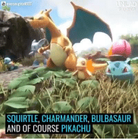 This ARK:Survival evolved MOD adds pokemons into the game Looks promissing 😍😍😍😍: e every mightxRIOT  UNLAD  GAMING  SQUIRTLE, CHARMANDER, BULBASAUR  AND OF COURSE PIKACHU  AA This ARK:Survival evolved MOD adds pokemons into the game Looks promissing 😍😍😍😍