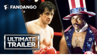 Memes, Rocky, and Fandango: E FANDANGO  ULTIMATE  TRAILER On this day in 1976, Rocky wide-released in theaters. Happy 40th Anniversary!