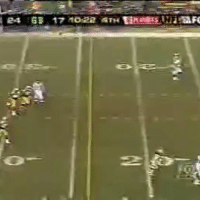 Fake, Sports, and Moon: e GB 17 셰0122 TH Ting魟Lia Tar 10 years ago today, Randy Moss fake-mooned the Green Bay crowd, much to Joe Buck's chagrin.