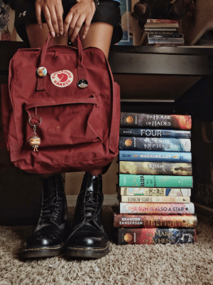 "courtofbookworms: ""I also like to escape inside their world,tucked behind their colorful spines. It forces me to fully investmy mind into what I'm doing, not just my ears or my eyes."" ― Katie Kacvinsky, Awaken IG 
