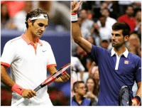 It's official: Federer vs. Djokovic in the US Open Men's Finals! Who you got?: /E It's official: Federer vs. Djokovic in the US Open Men's Finals! Who you got?