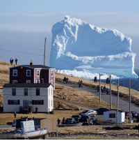 "20 APR: A small town in Newfoundland, Canada, has become a sudden tourist spot thanks to a new visitor - one of the first icebergs of the season. Canada's CBC News said that over the Easter weekend, the Southern Shore highway near the town of Ferryland was blocked with traffic as photographers - professional or amateur - pulled up to snap the hulking ice mountain. The area off the coast of Newfoundland and Labrador is colloquially known as ""iceberg alley"" thanks to the large number of ice blocks that drift down from the arctic each spring. The icebergs are often locked into sea ice, which can last until late spring or early summer, but this one looks like it has grounded and could remain in place, Mayor Adrian Kavanagh told The Canadian Press. PHOTO: REUTERS-Jody Martin BBCSnapshot photography iceberg nature ice Newfoundland Canada: E  LII 20 APR: A small town in Newfoundland, Canada, has become a sudden tourist spot thanks to a new visitor - one of the first icebergs of the season. Canada's CBC News said that over the Easter weekend, the Southern Shore highway near the town of Ferryland was blocked with traffic as photographers - professional or amateur - pulled up to snap the hulking ice mountain. The area off the coast of Newfoundland and Labrador is colloquially known as ""iceberg alley"" thanks to the large number of ice blocks that drift down from the arctic each spring. The icebergs are often locked into sea ice, which can last until late spring or early summer, but this one looks like it has grounded and could remain in place, Mayor Adrian Kavanagh told The Canadian Press. PHOTO: REUTERS-Jody Martin BBCSnapshot photography iceberg nature ice Newfoundland Canada"
