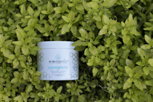 """eraorganics:  We don't call it Complete for nothing! It's great to hear when a mother and her baby can enjoy the benefits of our Complete Natural Moisturizer. It's not just a face cream thanks to our 10-in-1 formula! """"Great for my acne and for my baby's eczema. My 5 month old suffers from moderate eczema (elbows, feet, cheeks, and ears) that cause him discomfort from itching. I apply this generously to those spots and it keeps the redness and irritation at bay (which then helps with the itchiness, which then helps the skin to heal faster)."""" Read her full review on Amazon to see the great results she got for her acne in a matter of days.: e-raorganics""""  ALOE VERA MSM MANUKA HONEY  complete  org  MOISTURIZE NOURISH  REPAIR PROTECT  Daly Face and Body Cream  For Al Skin Types eraorganics:  We don't call it Complete for nothing! It's great to hear when a mother and her baby can enjoy the benefits of our Complete Natural Moisturizer. It's not just a face cream thanks to our 10-in-1 formula! """"Great for my acne and for my baby's eczema. My 5 month old suffers from moderate eczema (elbows, feet, cheeks, and ears) that cause him discomfort from itching. I apply this generously to those spots and it keeps the redness and irritation at bay (which then helps with the itchiness, which then helps the skin to heal faster)."""" Read her full review on Amazon to see the great results she got for her acne in a matter of days."""