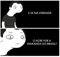 Pt-Br (Brazilian Portuguese), International, and Brasil: E SE NA VERDADE  O ACRE FOR A  WAKANDA DO BRASIL?