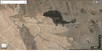 This bit of land in Arizona looks like that shitty Charmander meme: E Search Google Maps  Google  Imagery C2016 Google, Map data C2016 Google Terms Send feedback 1 mi L  3D This bit of land in Arizona looks like that shitty Charmander meme