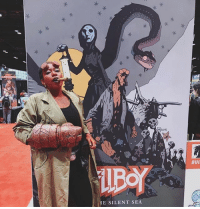 Check out this hellishly awesome Hellboy cosplay by @_crown_of_laurels_! via @darkhorsecomics: E SILENT SEA  A BUI Check out this hellishly awesome Hellboy cosplay by @_crown_of_laurels_! via @darkhorsecomics