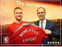Memes, International, and 🤖: e sky's the limit.  VNCAST  AIRPORT READ   The club is pleased to announce a new partnership with Newcastle International Airport. Here's more - http://bit.ly/2jUVhOT