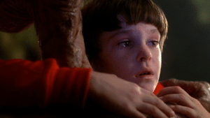 Children, E.T., and Film: [E.T.: The Extra-Terrestrial] Spielberg shot the film in chronological order to invoke a real response from the actors (mainly the children) when E.T. departed at the end. All emotional responses from that last scene are real.