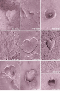 "ufo-the-truth-is-out-there:  Nasa spots mysterious heart-shaped craters on the surface of Mars.""From Mars with love : E04-01788  R10-03259  R09-02121  R09-00918  R04-00395  11-00090  M 100480  E12-00275  R06-01364  R08-00939 ufo-the-truth-is-out-there:  Nasa spots mysterious heart-shaped craters on the surface of Mars.""From Mars with love"