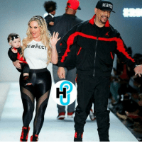 CoCo, Future, and Jordans: E2PECT  RE2PBU HotShot IceT x CoCo x baby Chanel hit the runway for the Nike-Jordan show. Doesn't baby Chanel look like she has a future career in modeling? 😍