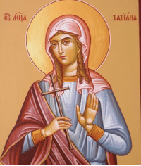 "<p><a href=""http://itistrulymeet.tumblr.com/post/155785142256/its-my-names-day-saint-tatiana-martyr-of-rome"" class=""tumblr_blog"">itistrulymeet</a>:</p><blockquote><p>It's my names day! Saint Tatiana, Martyr of Rome, pray for us!</p></blockquote>: e9  TATIANA <p><a href=""http://itistrulymeet.tumblr.com/post/155785142256/its-my-names-day-saint-tatiana-martyr-of-rome"" class=""tumblr_blog"">itistrulymeet</a>:</p><blockquote><p>It's my names day! Saint Tatiana, Martyr of Rome, pray for us!</p></blockquote>"