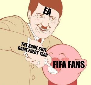 Fifa, Shit, and Game: EA  THE SAME SHIT  GAME EVERY YEAR  FIFA FANS Invest for unimaginable profits! via /r/MemeEconomy https://ift.tt/2A6sXml