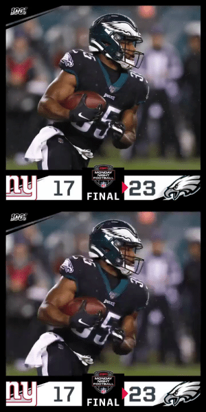FINAL: The @Eagles rally for an OT win! #NYGvsPHI  (via @Lexus) https://t.co/RlRcBeYSM2: EABLES  MONDAY  NIGHT  FOOTBALL  23  ny 17  FINAL   BanES  MONDAY  NIGHT  FOOTBALL  ny 17  23  FINAL FINAL: The @Eagles rally for an OT win! #NYGvsPHI  (via @Lexus) https://t.co/RlRcBeYSM2
