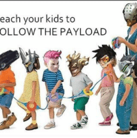 payload: each your kids to  OLLOW THE PAYLOAD