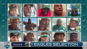 Eagles fans after hearing the Eagles drafted Jalen Hurts https://t.co/rnp3lQpo7Q: Eagles fans after hearing the Eagles drafted Jalen Hurts https://t.co/rnp3lQpo7Q