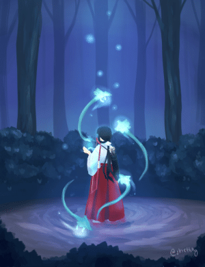 """kiethlydrawss: """"Lonely Priestess"""" - Kikyo from Inuyasha (Disclaimer: I actually love kagome and kikyo, they make great characters to the story of Inuyasha.) ^^ : eakicthng kiethlydrawss: """"Lonely Priestess"""" - Kikyo from Inuyasha (Disclaimer: I actually love kagome and kikyo, they make great characters to the story of Inuyasha.) ^^"""