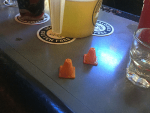 My bar buddy Bill is a Vietnam Vet and gives zero fucks. He has mini traffic cones he puts on the bar if someone sits next to him he doesn't want to talk to.: EALORA  VOL  FREE  10  ALC/VOL  CUTEN  FREE My bar buddy Bill is a Vietnam Vet and gives zero fucks. He has mini traffic cones he puts on the bar if someone sits next to him he doesn't want to talk to.