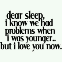 Love, Tumblr, and I Love You: ear sleep,  1 Know we had  problems when  i was younger.  but i love you now. @studentlifeproblems