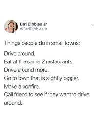 drive restaurants and make a earl dibbles jr earldibblesjr things people do