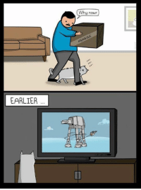 Memes, 🤖, and Oatmeal: EARLIER  Why now?  FRAGILE By The Oatmeal