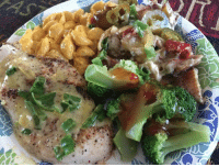 Early dinnahhh. Backed chicken with shells and cheese, potato salad, and broccoli with hot sweet chilli sauce, and sweet tea. dinner chicken yummy hangry earlydinner healthyfood fuel curves fitlife recovery edfam: Early dinnahhh. Backed chicken with shells and cheese, potato salad, and broccoli with hot sweet chilli sauce, and sweet tea. dinner chicken yummy hangry earlydinner healthyfood fuel curves fitlife recovery edfam