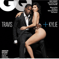 Memes, Nfl, and Summer: EARLY KICKOFF  The Freshest Young  Talents of the NFL  Where to Drink  (And Have a  Hell of a Good Time)  This Summer  TRAVIS  KYLIE  AMERICAN  HOSTAGE:  THE UNTOLD  STORY OF  A NIGHTMARE travisscott x kyliejenner for the cover of GQ magazine