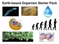 Starter Packs, Earth, and Starter Pack: Earth-based Organism Starter Pack  H20  cell membrane  mitochondrion  cytoplasnm  nucleus  DNA  endoplasmatic  reticulum  lysosome  ribosome  Golgi  apparatus