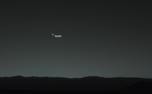 "Slick, Target, and Tumblr: Earth flowury: ofthemoons:  curiositymarsrover:  Earth, you are my wishing star. Here's how you look from my home on the surface of Mars.  ""you are my wishing star"" is so romantic   why is the mars rover so slick"