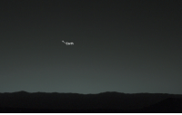 """Slick, Target, and Tumblr: Earth flowury: ofthemoons:  curiositymarsrover:  Earth, you are my wishing star. Here's how you look from my home on the surface of Mars.  """"you are my wishing star"""" is so romantic  why is the mars rover so slick"""
