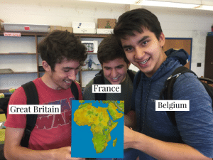 Belgium, Earth, and France: Earth Science  France  Belgium  Great Britain  WA  D Invest in friendship! HOT HOT HOT!