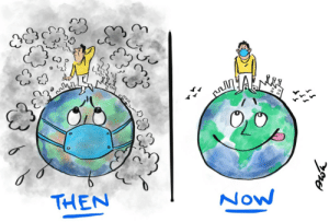 Earth Then vs Earth Now: Earth Then vs Earth Now