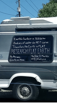 "Bodies , Curving, and Tumblr: Earths Surface is 712 Water  Bodies of water do NOT curve  Therefore,the Eorth is FLAT  RESEARCH FLATEARTH  the uoy..  YouTube: D. Marble  Gravity ia Hoax FEOffensive <p><a href=""http://memehumor.net/post/175967781878/finally-caught-one-in-the-wild"" class=""tumblr_blog"">memehumor</a>:</p>  <blockquote><p>Finally Caught one in the wild.</p></blockquote>"