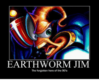 Memes, 90's, and 🤖: EARTHWORM JIM  The forgotten hero of the 90's
