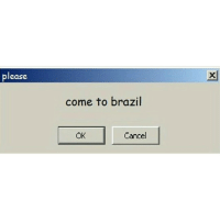 Memes, Brazil, and 🤖: ease  come to brazil  Cancel imma live stream
