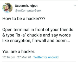 Easiest way to become a hacker.: Easiest way to become a hacker.